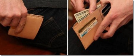 Leather Wallet by The Art of Manliness