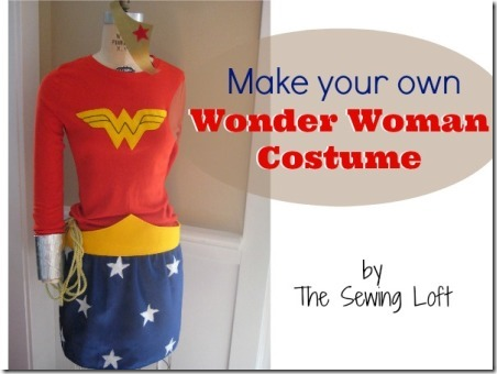 Make Your Own Wonder Woman Costume by The Sewing Loft