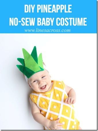 Pineapple Onesie Costume by Lines Across