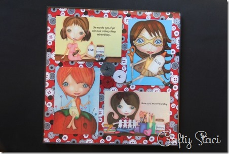 Sewing Room Postcard Collage - Crafty Staci 1