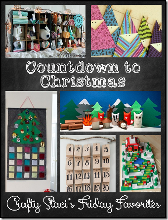 Countdown to Christmas - Crafty Staci's Friday Favorites