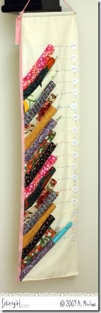 Crochet Hook Holder from Future Girl