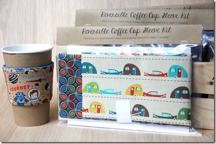 Make Your Own Coffee Cup Sleeve Kit - Crafty Staci