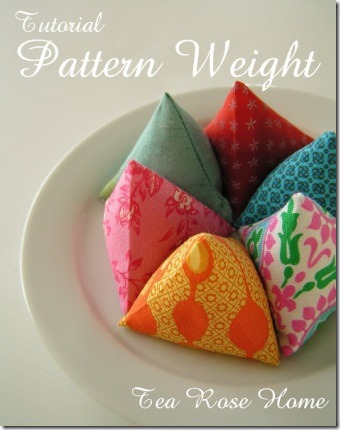Pattern Weights from Tea Rose Home