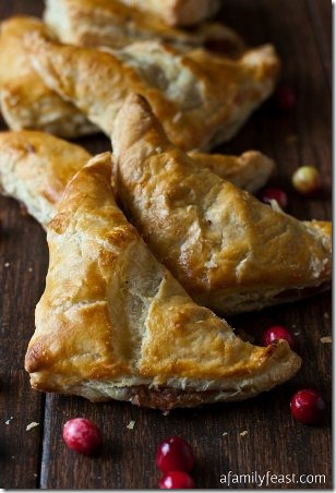 Turkey and Stuffing Turnovers from A Family Feast