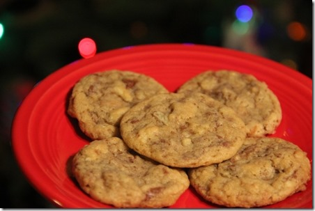 Bacon Toffee Potato Chip Cookies | Crafty Staci