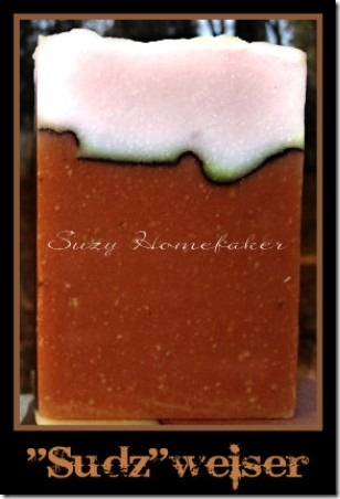 Beer Soap from Suzy Homefaker