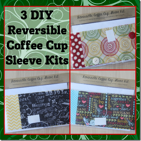 Coffee Cup Sleeve Kits from Crafty Staci
