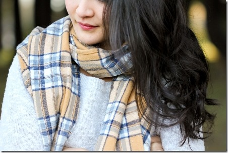Cozy DIY Flannel Scarves from Delia Creates