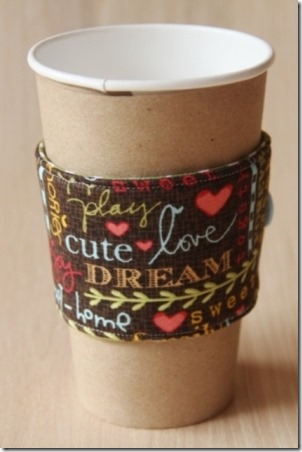 Crafty Staci's DIY Reversible Coffee Cup Sleeve Kits