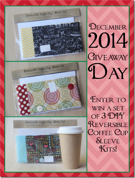 December 2014 Giveaway Day at Crafty Staci