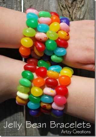 Jelly Bean Bracelets from Artzy Creations