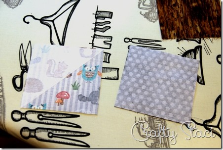 Quick Fabric Corner Bookmarks - Crafty Staci 3