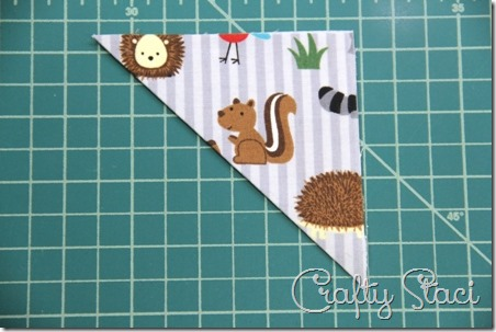 Quick Fabric Corner Bookmarks - Crafty Staci 4