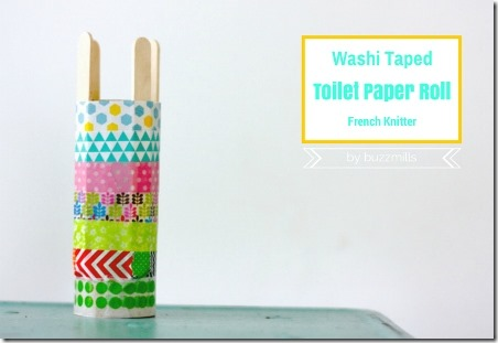 Washi Tape French Knitter from Buzzmills