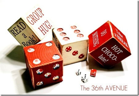 Wood Dice from The 36th Avenue