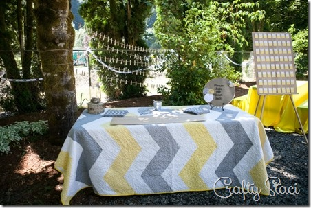 Guest book quilt - Crafty Staci