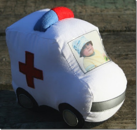 Personalized Ambulance by Ric Rac