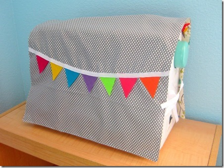 Reversible Sewing Machine Cover Tutorial from Stay at Home Artist