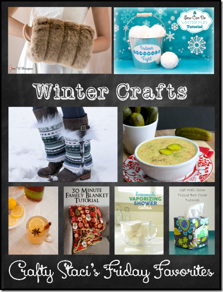 Winter Crafts - Crafty Staci's Friday Favorites