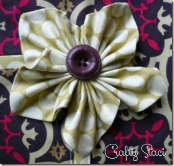 10 More Fabric Flowers