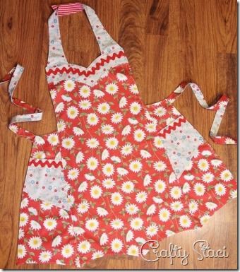 Apron for Craft Warehouse - Crafty Staci