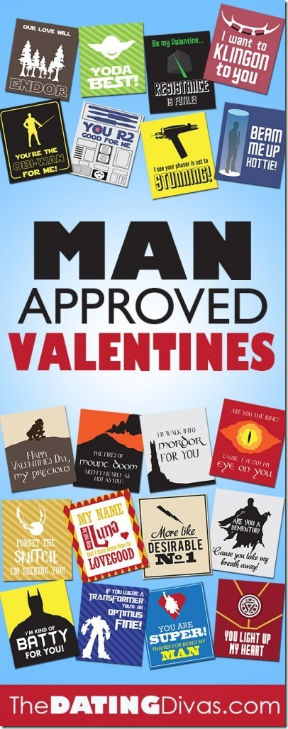 Man Approved Valentines from The Dating Divas