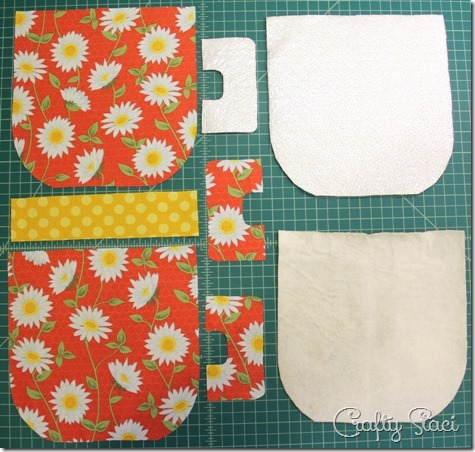 Mug Hot Pad pieces - Crafty Staci
