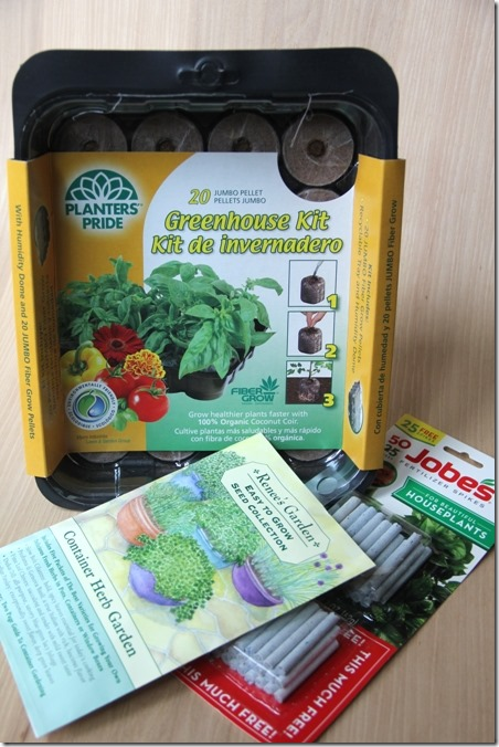 Orchard Hardware herb garden