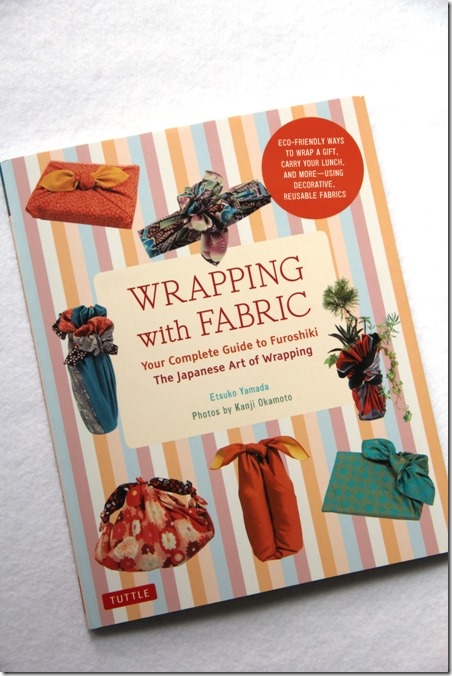Wrapping with Fabric Book Review by Crafty Staci