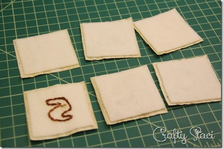 Attach fusible fleece - Crafty Staci