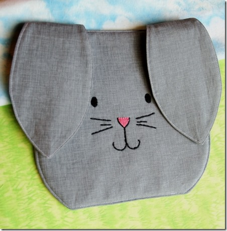 Bunny Hot Pad from Crafty Staci