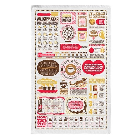 Coffee Kitchen Towel from Uncommon Goods