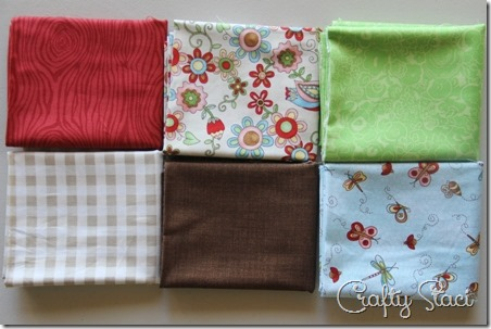 Crafty Staci's 5th Anniversary Giveaway fabrics