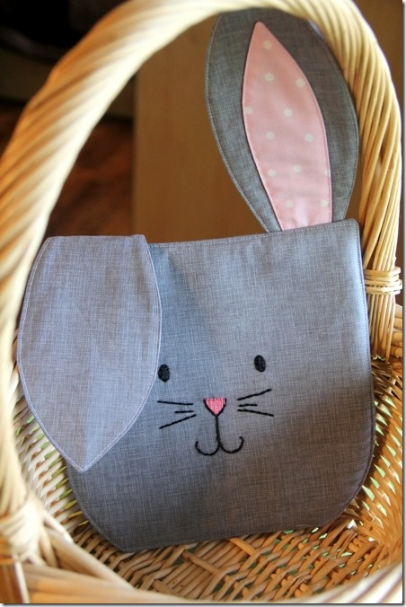 March Bunny Hot Pad from Crafty Staci