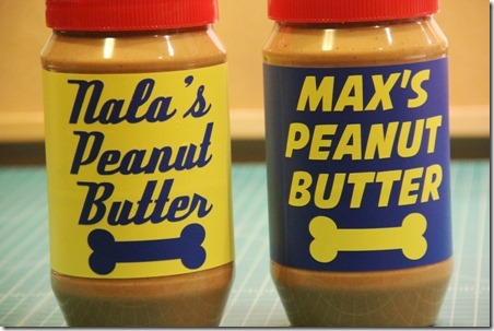 Peanut Butter Jar Labels