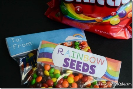 Rainbow Seeds Printable from A Few Short Cuts