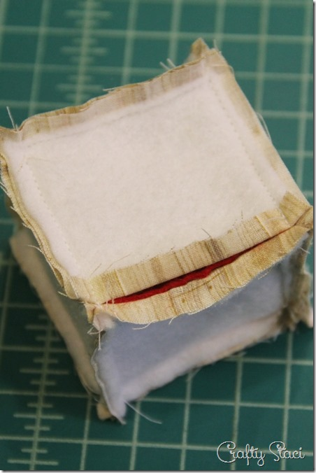 Sewing side seams - Crafty Staci