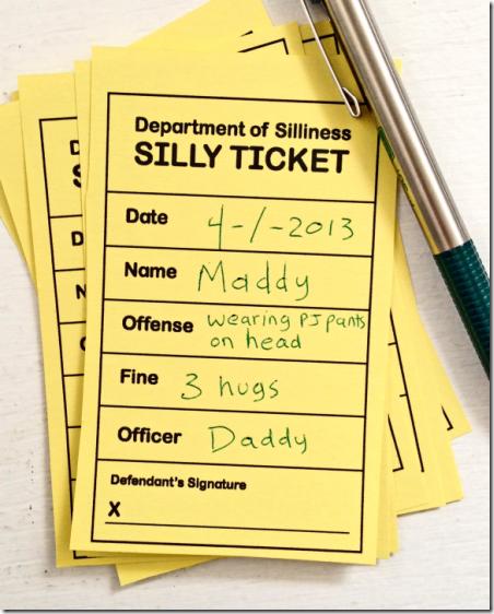 Silly Tickets from Piikea Street