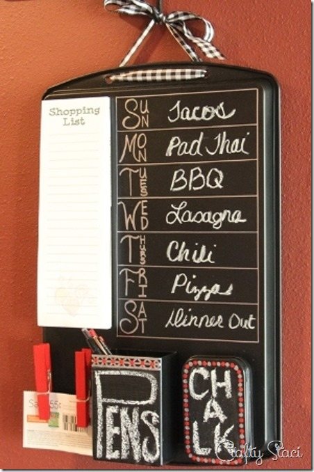 Cookie Sheet Kitchen Command Center - Crafty Staci 12