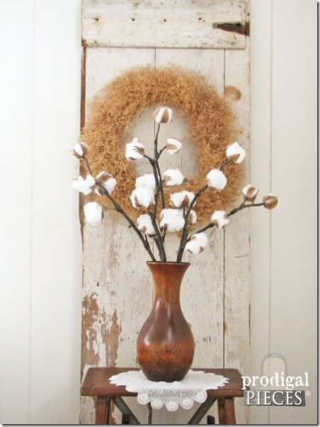 Cotton Branches from Prodigal Pieces