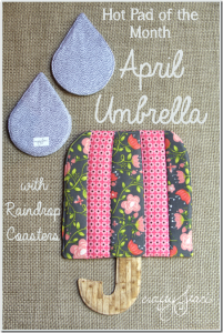 Hot-Pad-of-the-Month-April-Umbrella-with-Raindrop-Coasters_thumb.png
