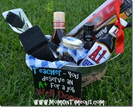 Teacher Appreciation Grilling Kit from Mom on Timeout