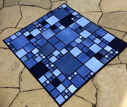 Denim Quilt from I Quilt for Fun