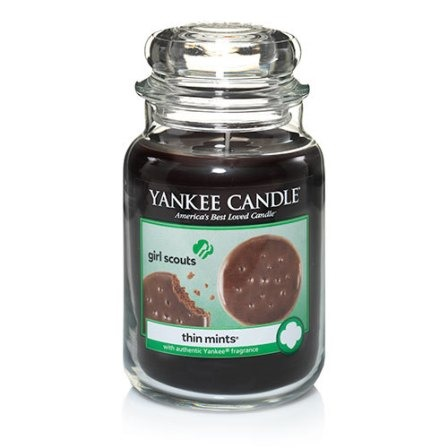 Girl Scouts Thin Mint Cookie Candle from Yankee Candle