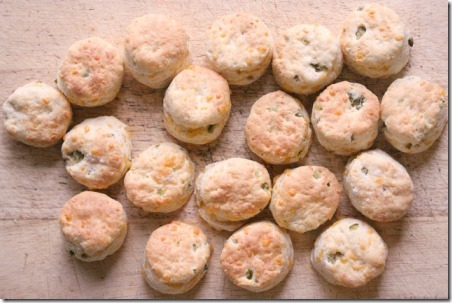 Jalapeno Cheddar Sour Cream Biscuits from Jenns Random Scraps