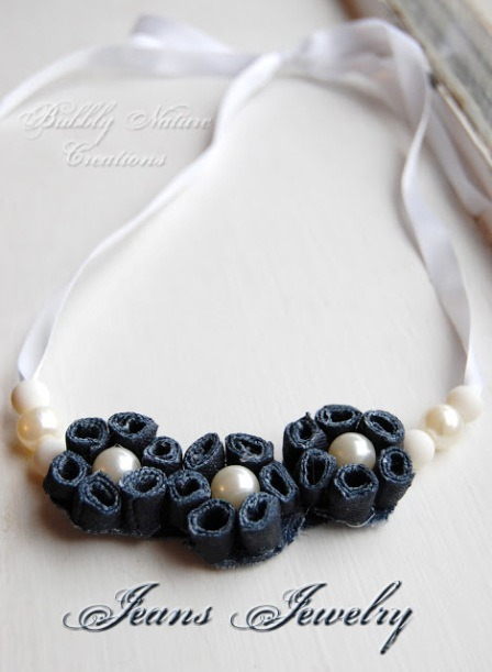 Jeans Jewelry from Bubbly Nature Creations