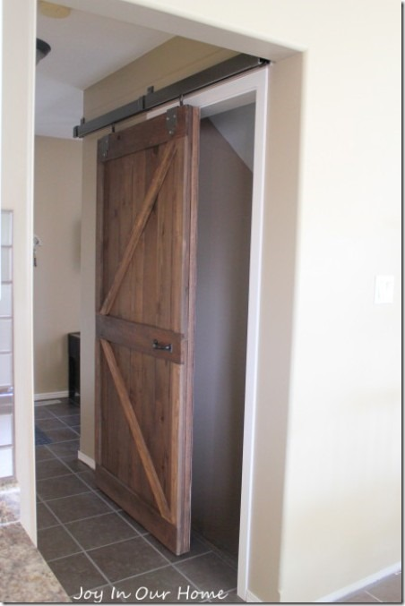 Upcycled Barn Door from Joy in our Home