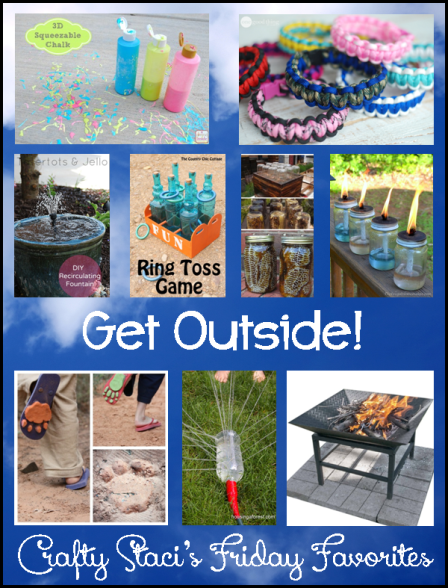 Crafts for the Outdoors - Crafty Staci's Friday Favorites