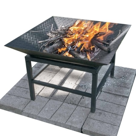 Portable Steel Fire Bowl from Home Dzine